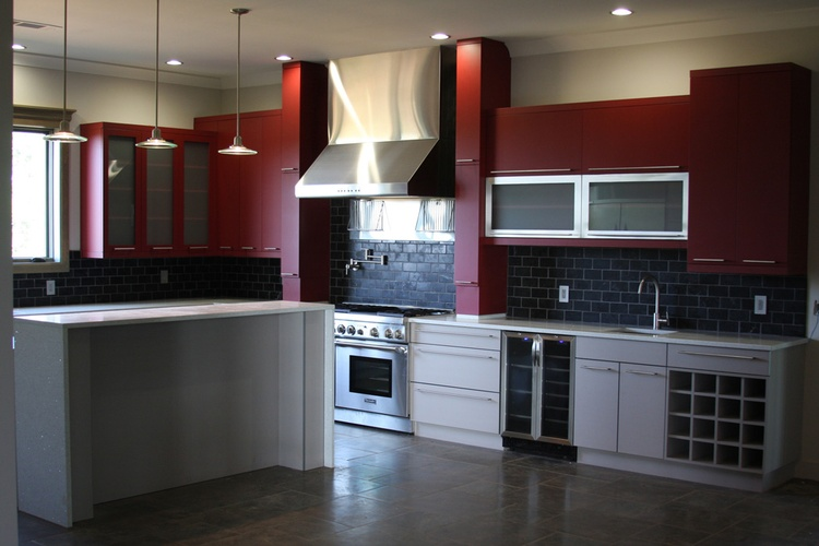 Gorgeous Kitchen Backsplash design by Old Castle Home Design Center