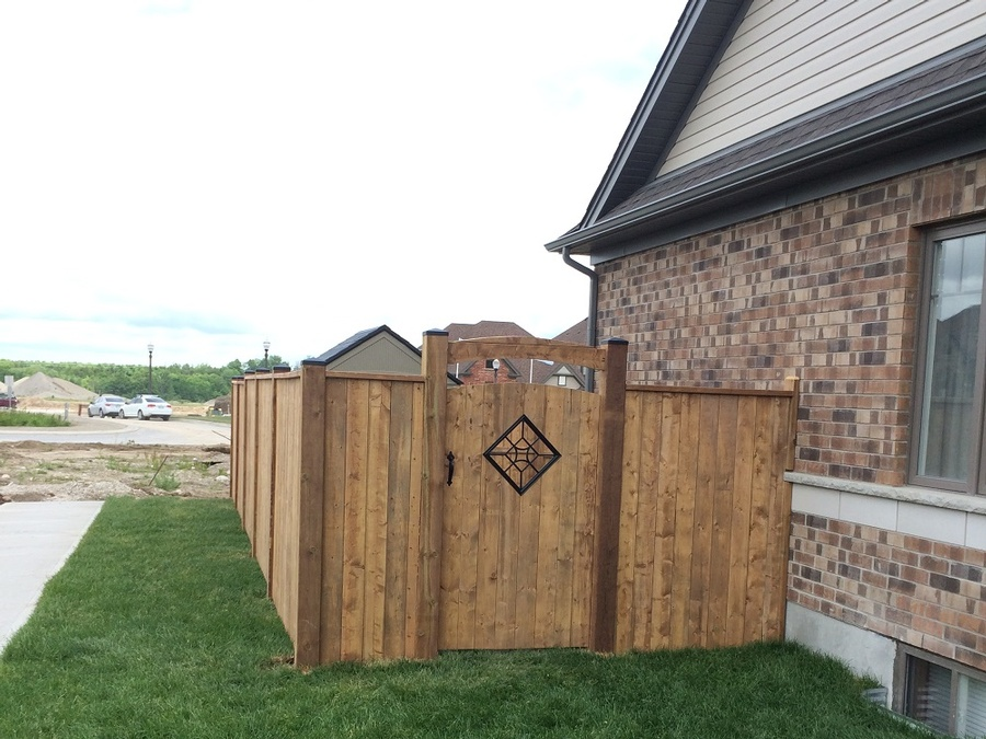 bfd rona products photogallery wood fences
