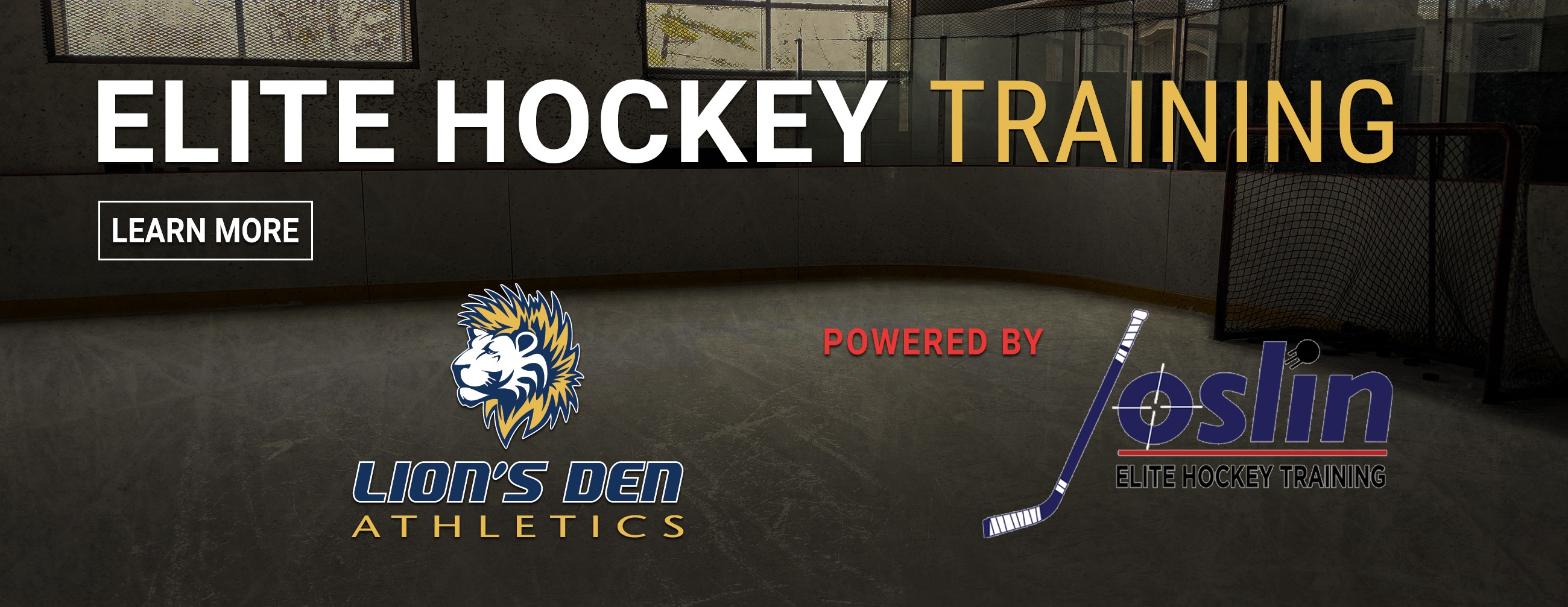 ELITE HOCKEY TRAINING POWERED BY JOSLIN
