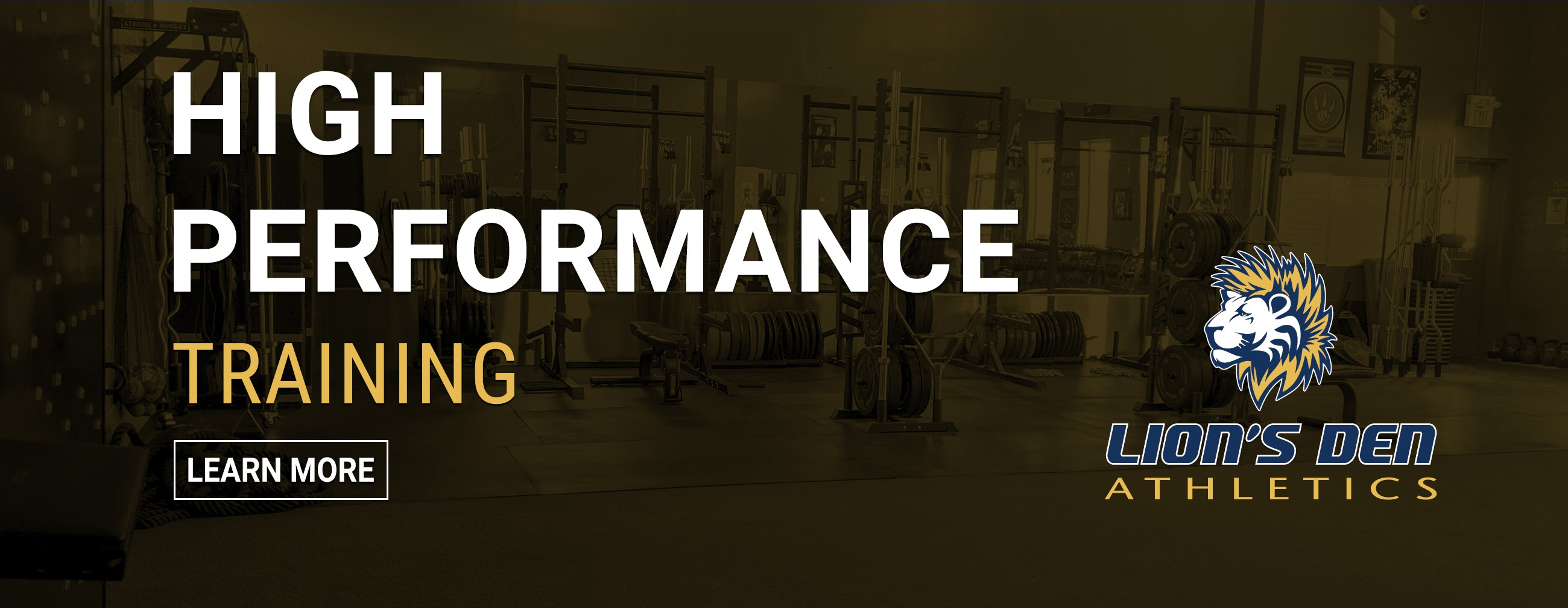 HIGH PERFORMANCE TRAINING