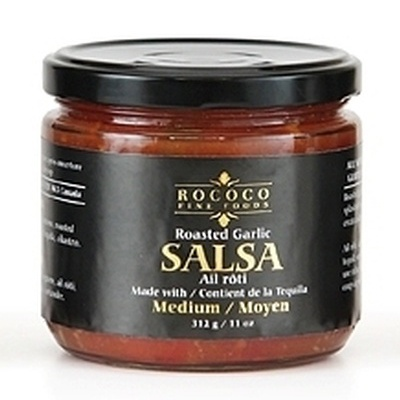 All Natural, Gluten Free - Roasted Garlic Salsa with Tequila