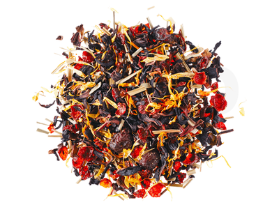 Cranberry Flavoured Hibiscus Tea Leaves