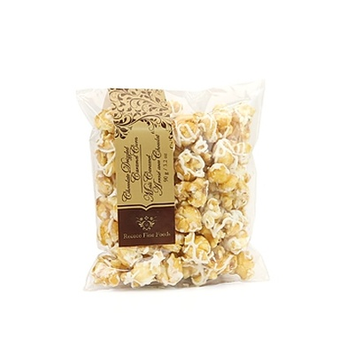White Belgian Chocolate Caramel Corn Pillows