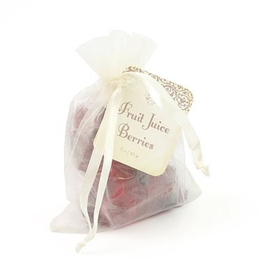Organza Bag, Fruit Juice Berries