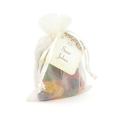 Organza Bag, Sour Jubes