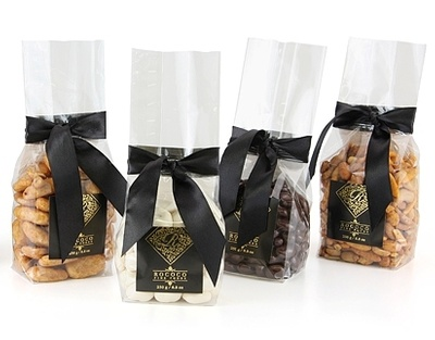 Stand Up Gift Bag - Dark Belgian Chocolate Hazelnuts