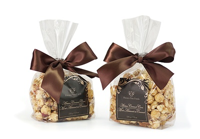 Artisan Walnut Cranberry Caramel Corn, Gift Bag