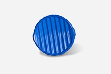 Buy High Visibility Blue Sprinkler Head Cover at Draingarde