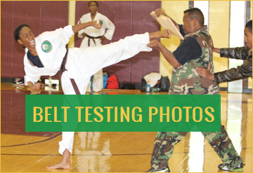 Belt Testing Photos