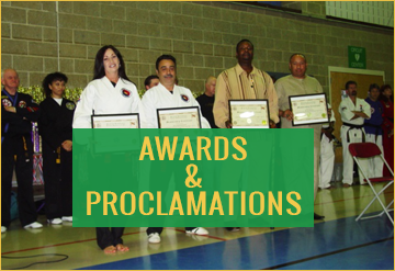 Awards & Proclamations