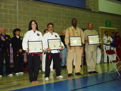 Award from the Maryland Professional Karate Association, Maryland