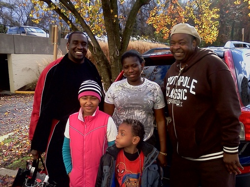 "Ramblers ""Adopt"" a Local Family for Thanksgiving, Bladensburg, Maryland"