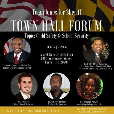 Child Safety and School Security Town Hall Forum, November 6, 2017