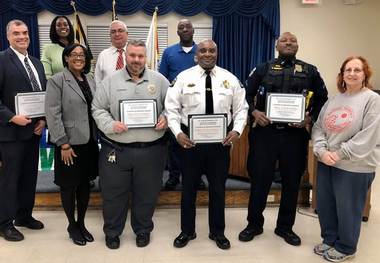 We Lead By Example, Inc., Honors Town of Bladensburg Partners, November 18, 2019