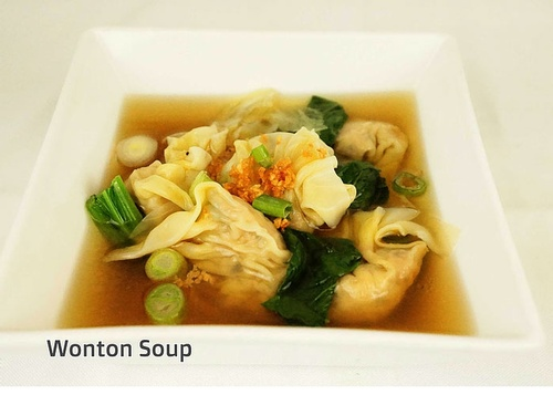 Get Tasty Wonton Soup at Thai Noodle in Toronto