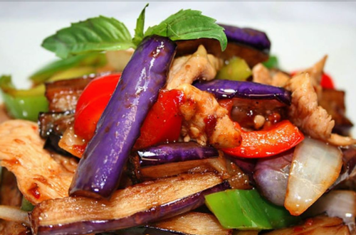 Get Chicken Spicy Eggplant at Thai Noodle - Thai Restaurant Vaughan Rd