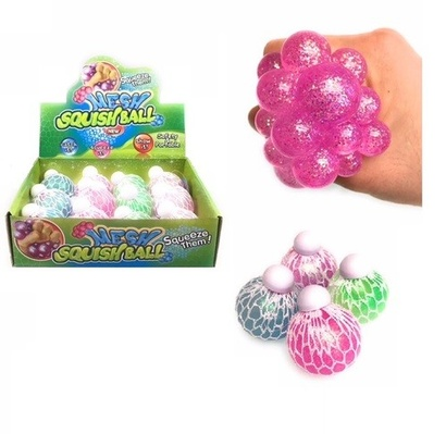 mesh ball glitter light