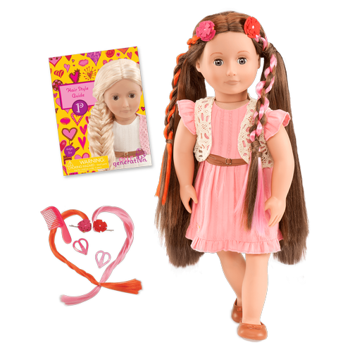 BD37017A-MAIN_Parker_Pink_Dress_Hairplay_Doll-all-components