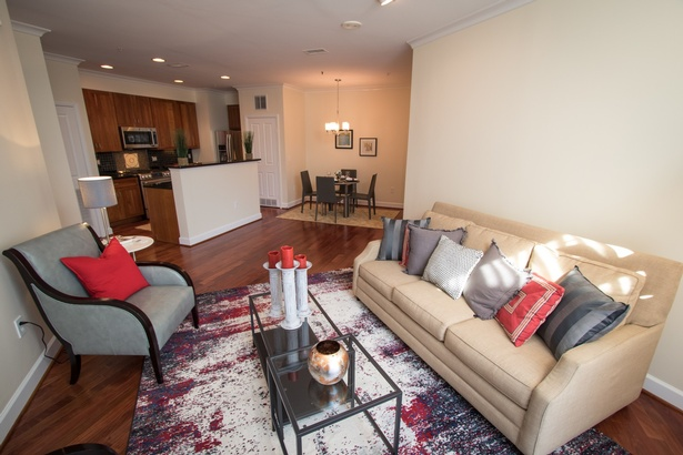 Clarendon Penthouse Staging
