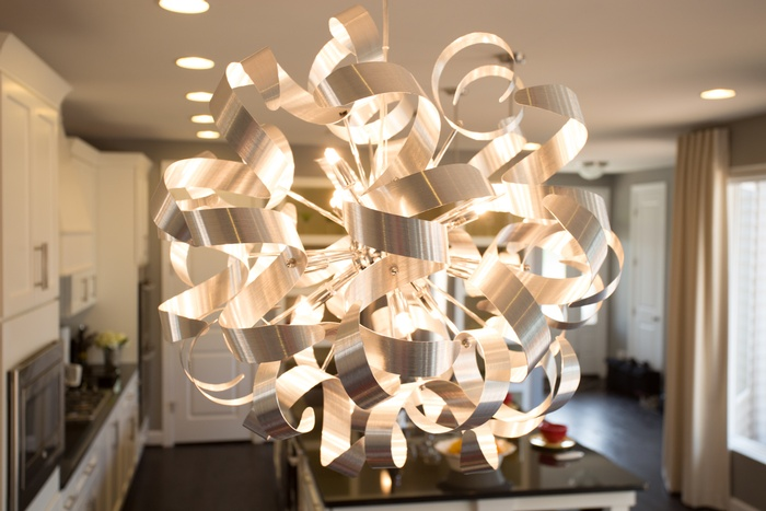 Fun Metal Chandelier