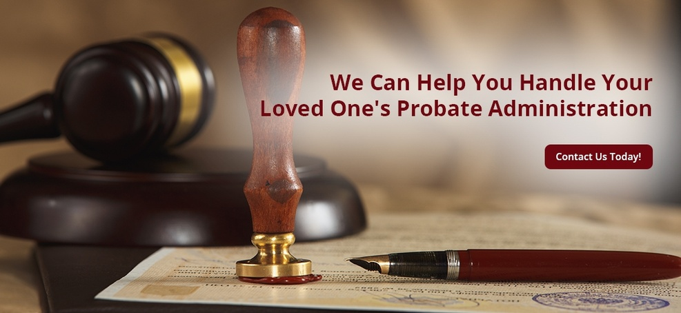 ESTATE ADMINISTRATION-PROBATE