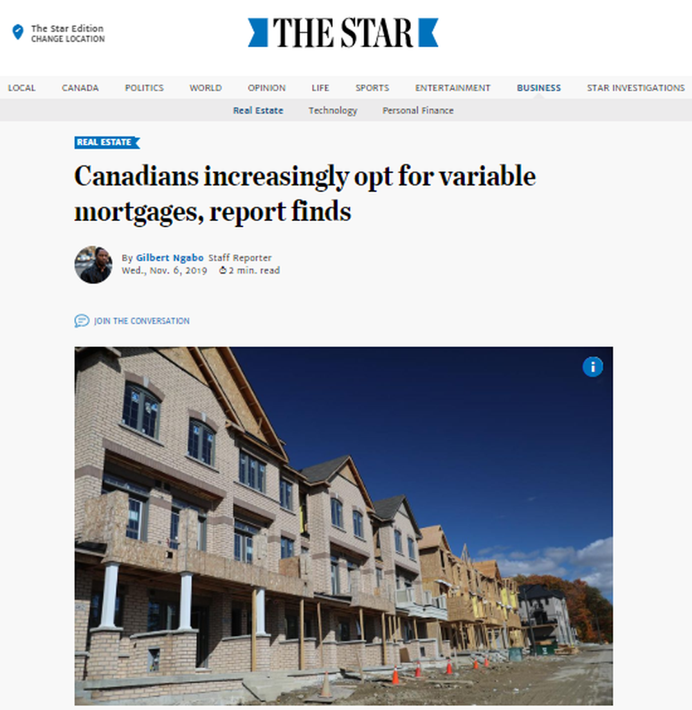 Canadians increasingly opt for variable mortgages  report finds   The Star.png