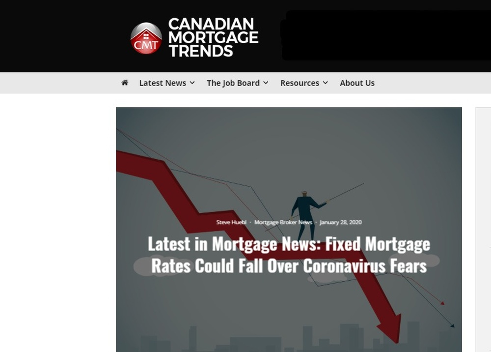 Latest in Mortgage News  Fixed Mortgage Rates Could Fall Over Coronavirus Fears - Mortgage Rates   Mortgage Broker News in Canada (2).jpg