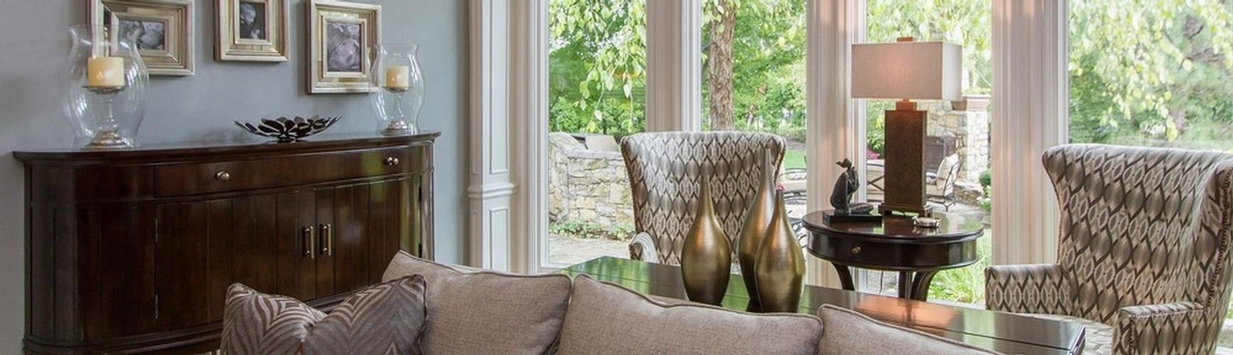 Hallbrook Living Room Remodel Interior Design Overland Park Ks