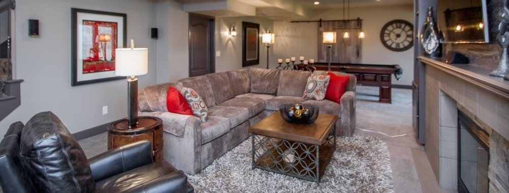 Basement Remodel Kansas City by R Designs