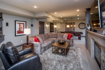 White Horse Basement Remodel, South Leawood, Kansas