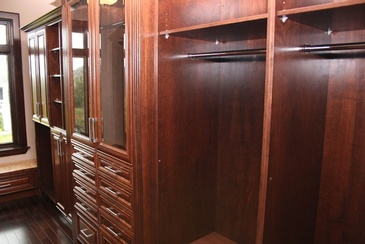 Walkin Closet - Custom Millwork Fort McMurray by ELITE KITCHENS INC.