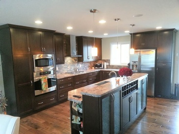 Kitchen Renovation Edmonton by ELITE KITCHENS INC.