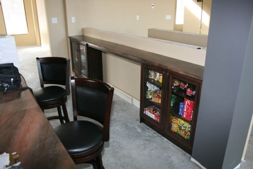 Candy Display Case - Custom Millwork Edmonton by  Elite Kitchens Inc.
