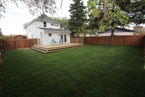 New Home Additions - Exterior Deck Installation Services in Winnipeg