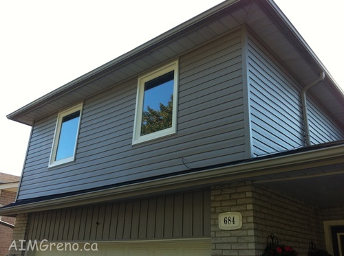 Siding Installation Maple by Siding Contractor - AIMG Inc