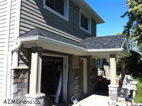 Soffit Fascia Repair Schomberg by AIMG Inc