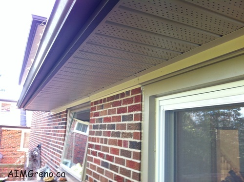 Soffit Fascia Repair Stouffville by AIMG Inc