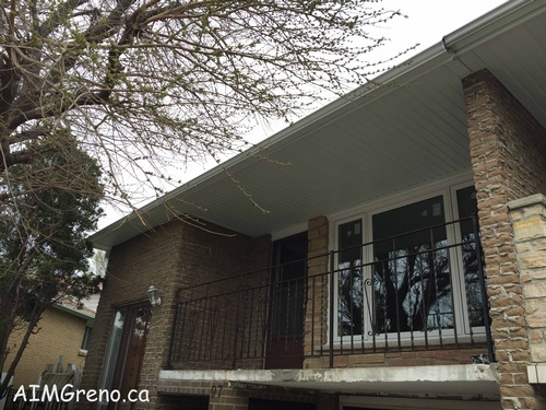 Soffit Fascia Replacement Toronto by AIMG Inc