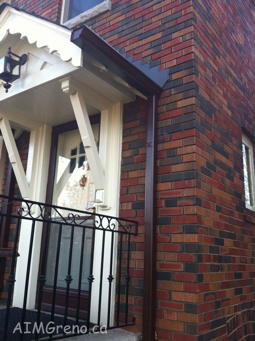 Eavestrough Replacement by AIMG Inc General Contractors in Toronto