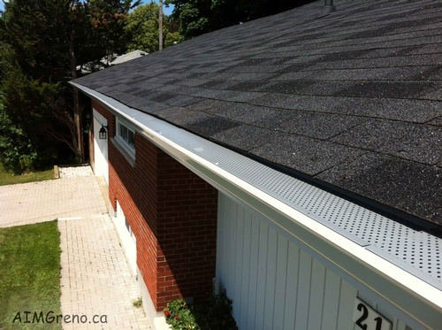 Gutter Installation by AIMG Inc General Contractors in Richmond Hill