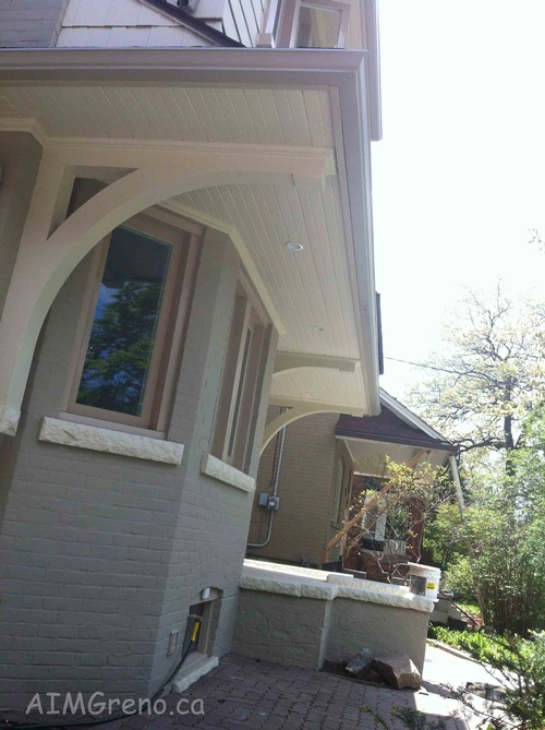 Gutter Installation by AIMG Inc General Contractors in North York