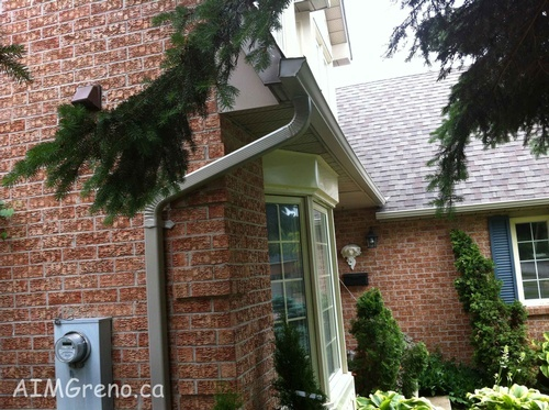 Rain Gutter Installation by AIMG Inc General Contractors in  Bolton