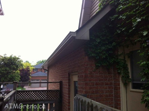 Rain Gutter Installation by AIMG Inc General Contractors in Lloydtown