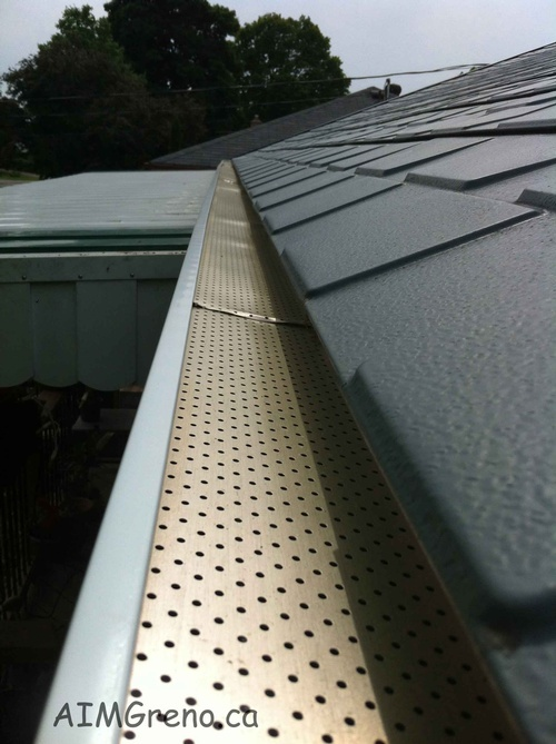Rain Gutter Installation by AIMG Inc General Contractors in Pickering