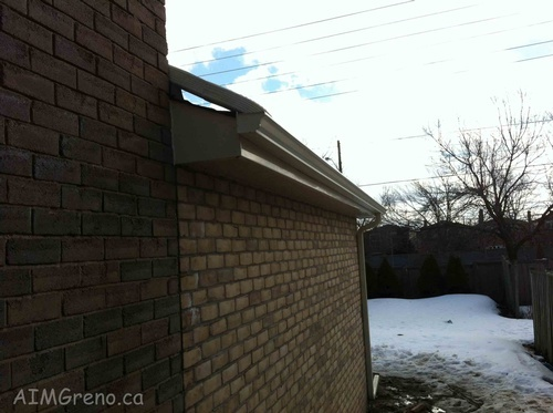 Rain Gutter Installation Service by AIMG Inc General Contractors in North York