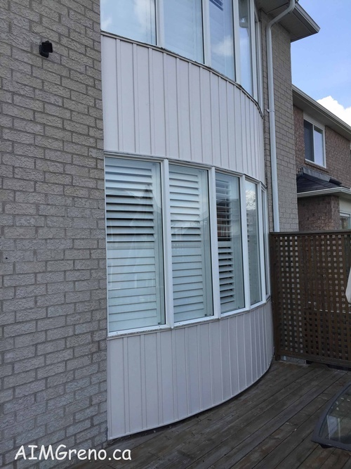 After Siding Replacement Services by Siding Contractor - AIMG Inc