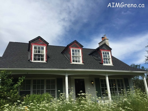 Before Window Siding Replacement Service by AIMG Inc