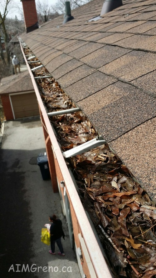 Gutter Cleaning Pickering - AIMG Inc