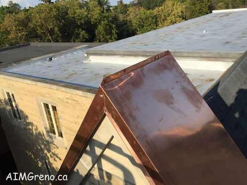 Roof Aluminum Capping by AIMG Inc in Toronto