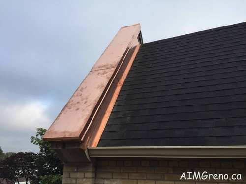 Roof Aluminum Capping by AIMG Inc in Thornhill